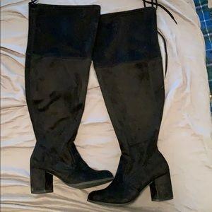 Knee high boots *Wide calf *